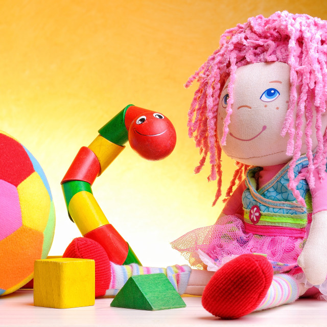 """""""Leisure toys children close up"""" stock image"""