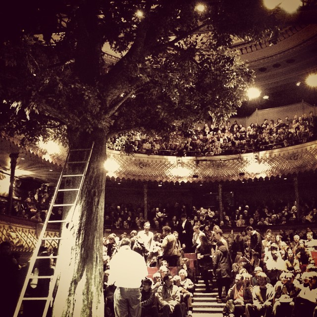 """""""Tree at the Old Vic"""" stock image"""
