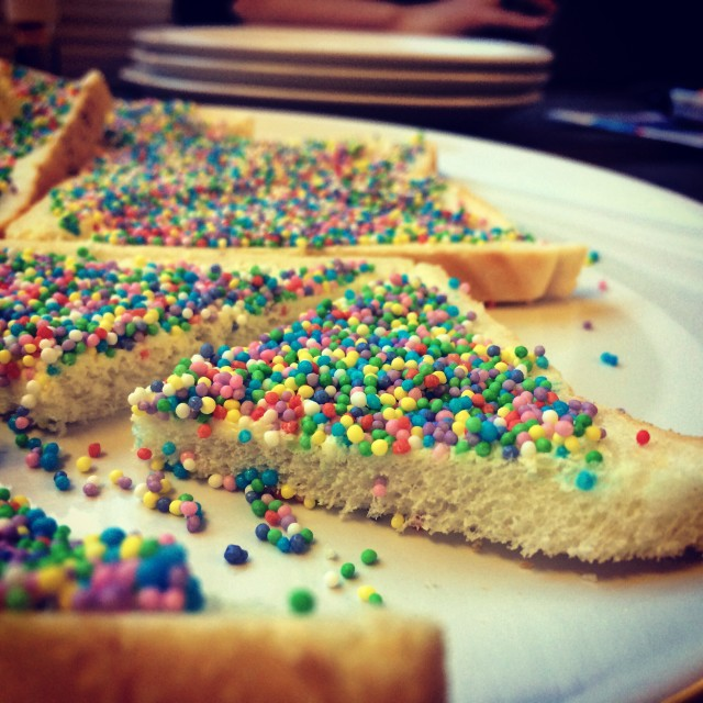 """Fairy bread"" stock image"