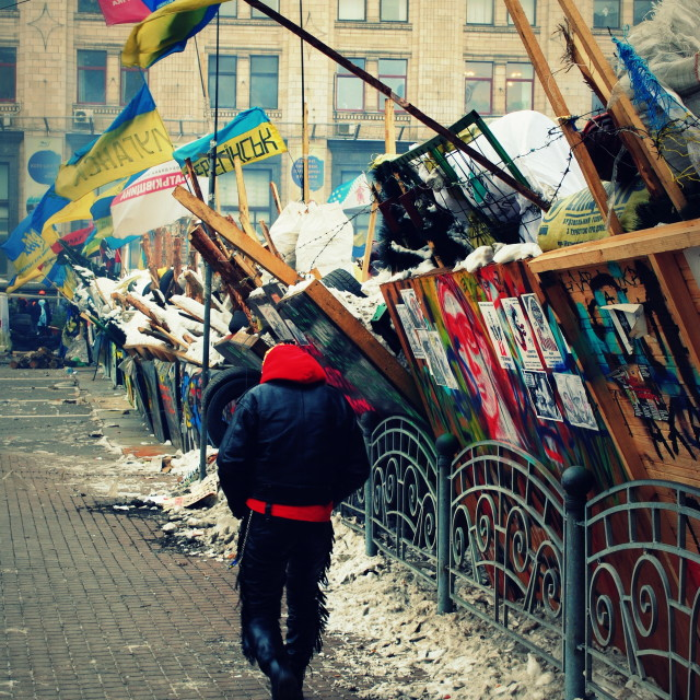 """Kiev Occupation Zone II"" stock image"