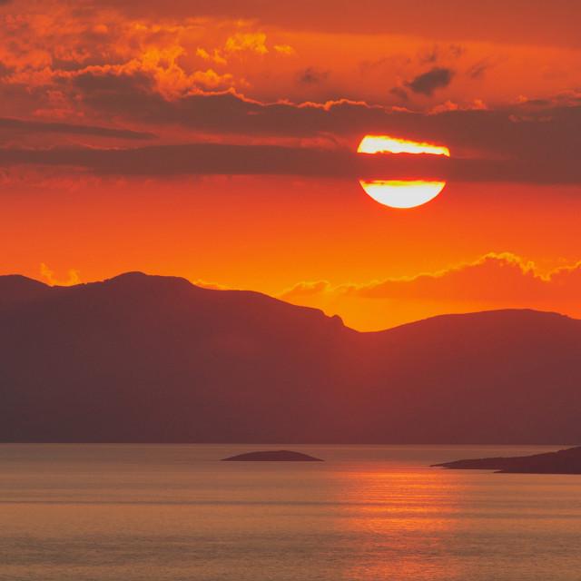 """Aegean Glow"" stock image"