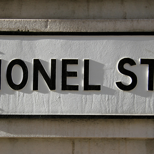 """Lionel Street"" stock image"
