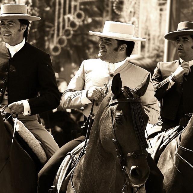 """Three Amigos"" stock image"