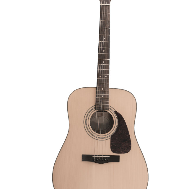"""""""Acoustic guitar"""" stock image"""