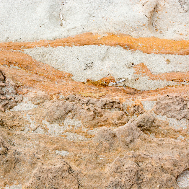 """""""String of rock and sand"""" stock image"""