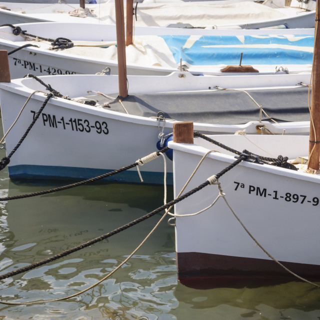"""Traditional sailboats"" stock image"