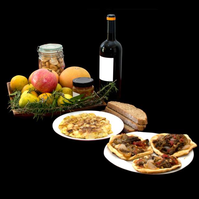 """Mediterranean lunch"" stock image"