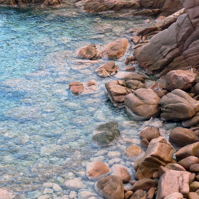 """""""Sardinian Coast"""" stock image"""