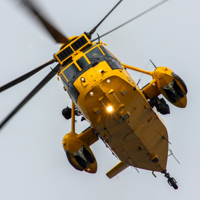 """Sea King HAR3"" stock image"