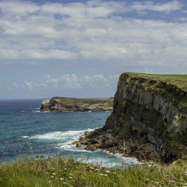 """Cantabrian Coast"" stock image"