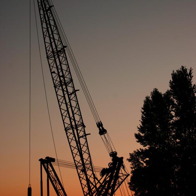 """""""Sunrise Construction"""" stock image"""