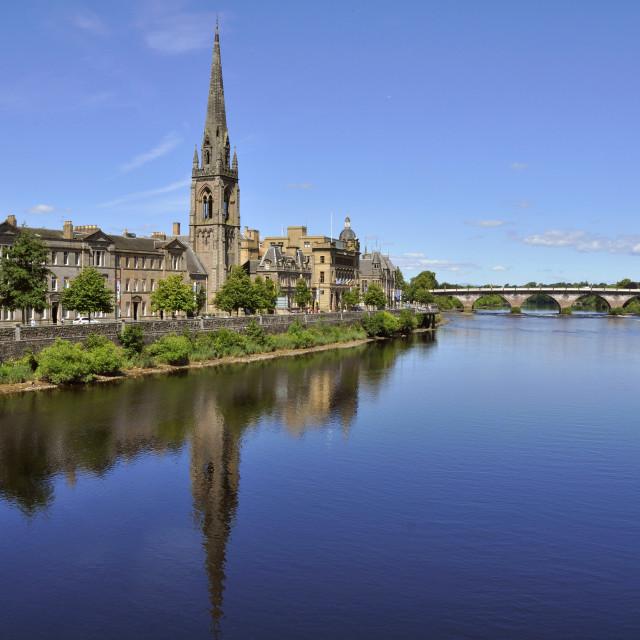 """""""Perth, Scotland"""" stock image"""