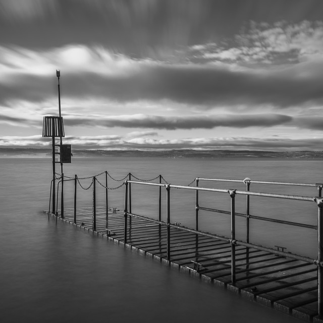 """Seascape Jetty"" stock image"