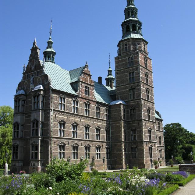 """""""Rosenborg castle"""" stock image"""