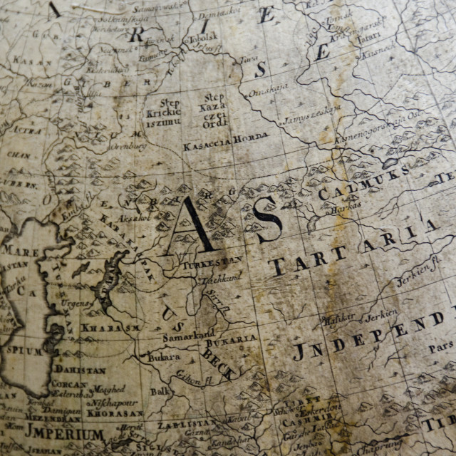 """""""detail of a old map"""" stock image"""