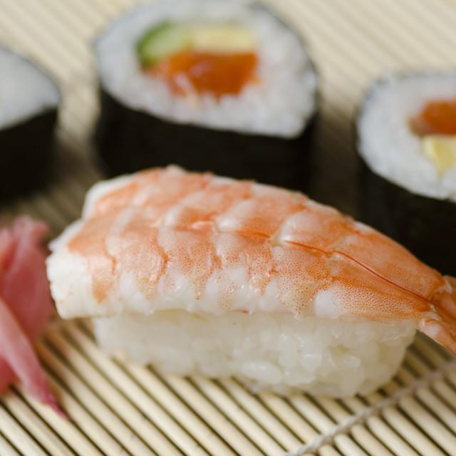 """""""Japanese sushi"""" stock image"""