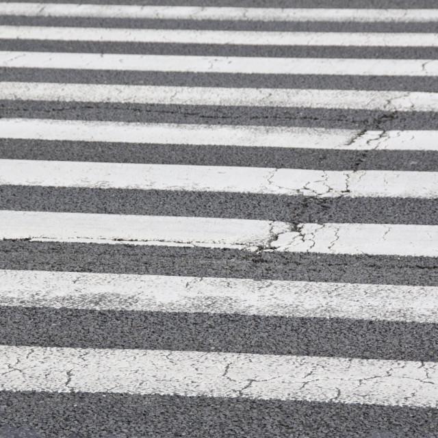 """Pedestrian crossing, zebra"" stock image"