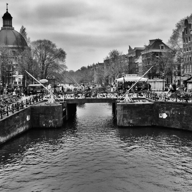 """""""Canal Amsterdam"""" stock image"""