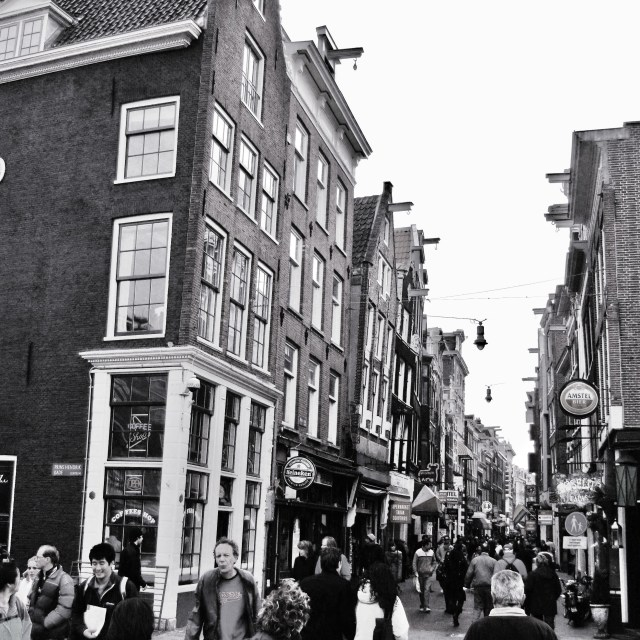 """Amsterdam Streetscape"" stock image"