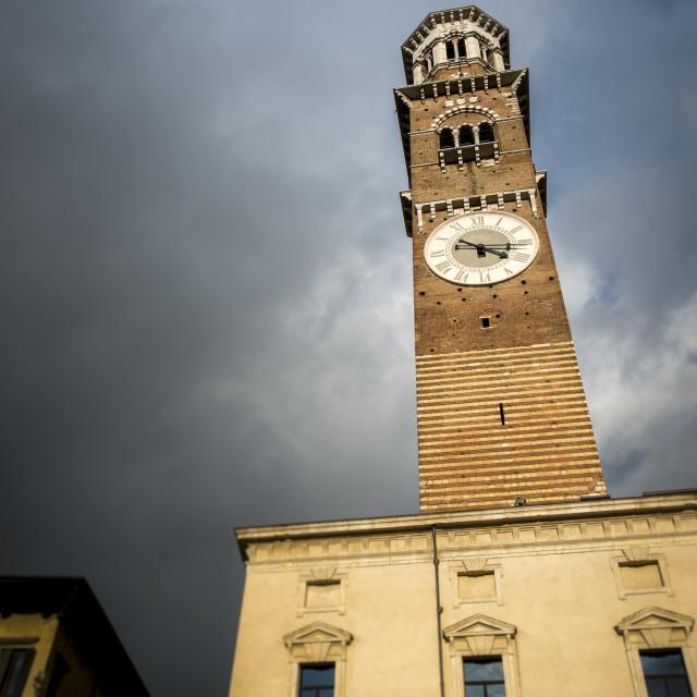 """Lamberti tower"" stock image"