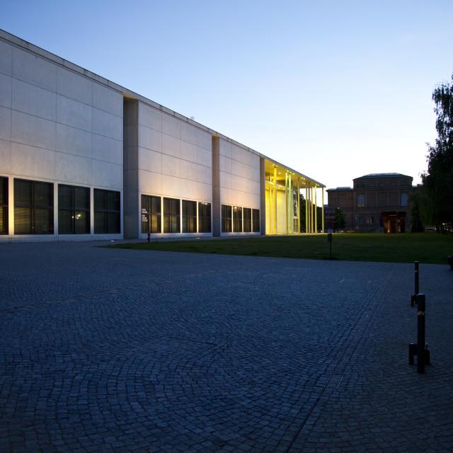 """Pinakothek der Moderne"" stock image"