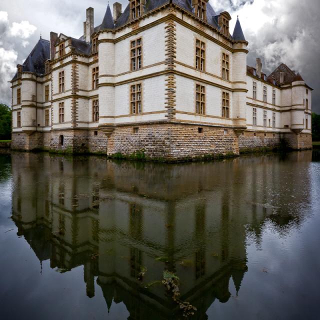 """Le Château de Cormatin"" stock image"