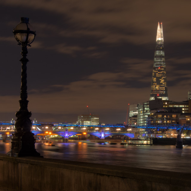 """Very Small or Far Away- The Shard"" stock image"