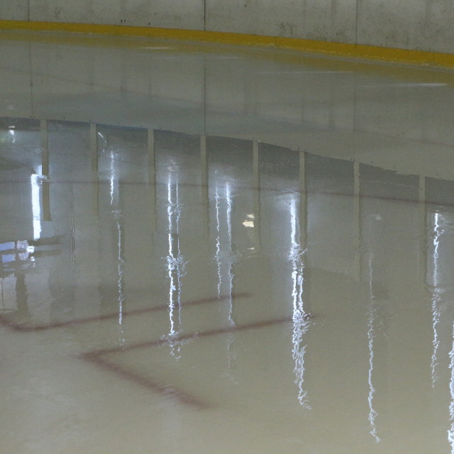 """Ice Rink"" stock image"