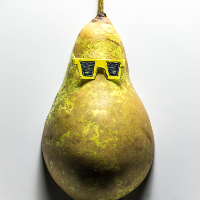 """The Pear Necessities"" stock image"