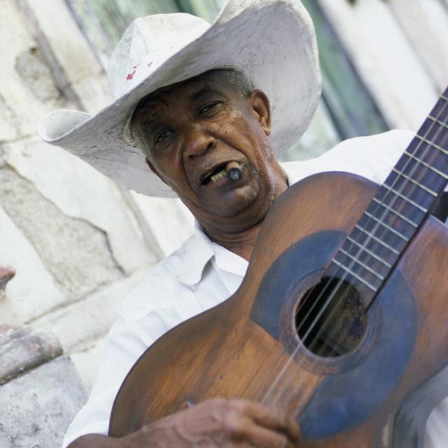 """""""AMERICA CUBA SANTIAGO DE CUBA"""" stock image"""
