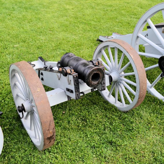 """3 pounder howitzer; 18th century design"" stock image"