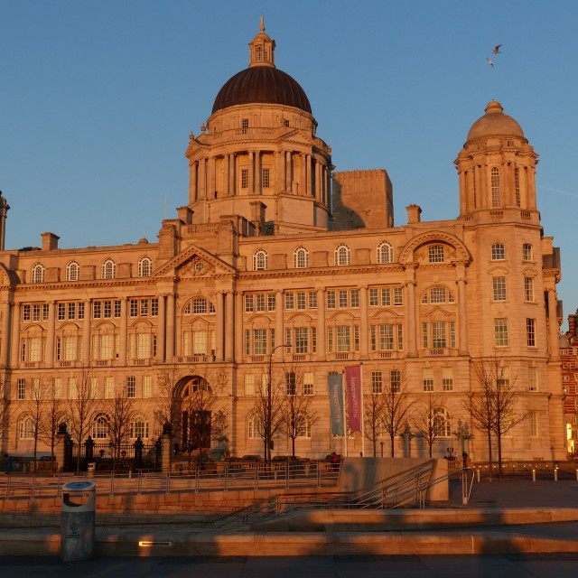"""Port of Liverpool building"" stock image"