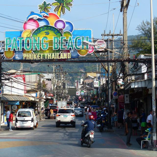 """Patong Beach, Phuket"" stock image"
