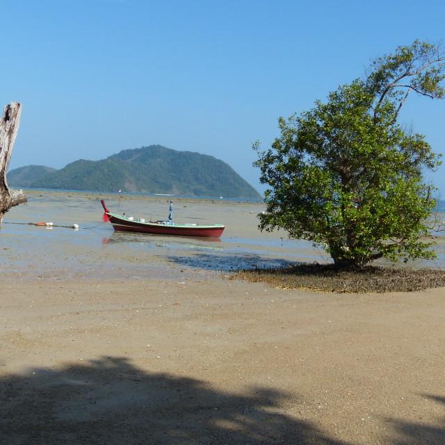 """Beach on Phuket island, Thailand"" stock image"