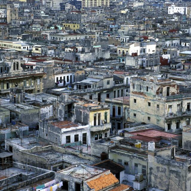 """""""AMERICA CUBA HAVANA"""" stock image"""