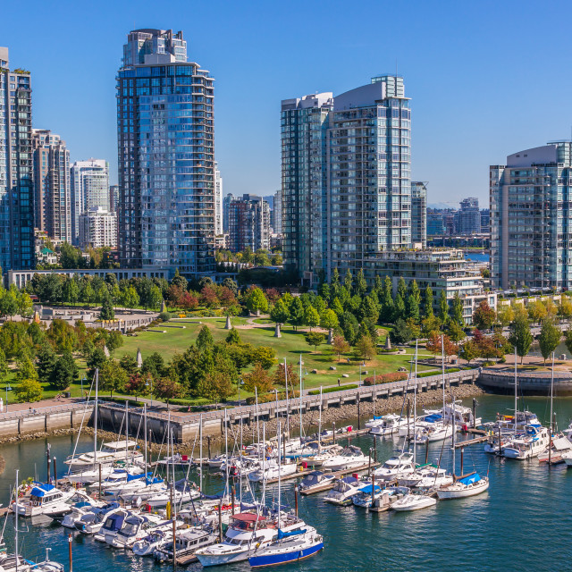 """Downtown Vancouver"" stock image"