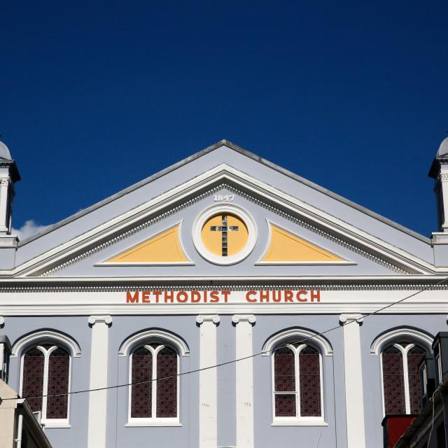 """METHODIST CHURCH"" stock image"