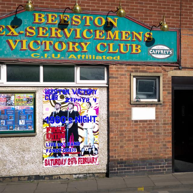 """Ex-Servicemens Victory Club ."" stock image"