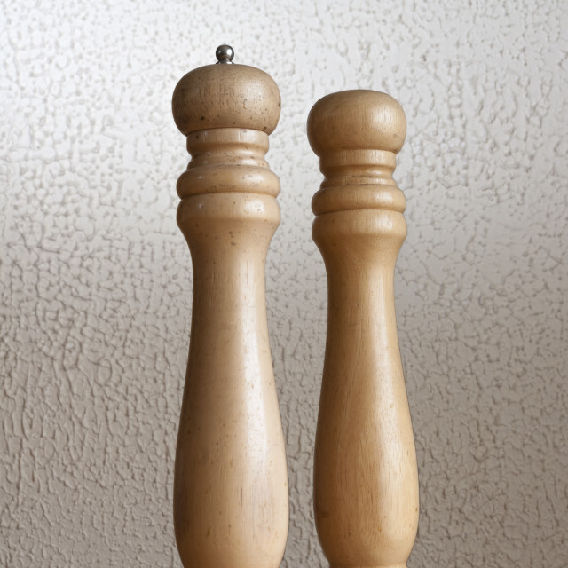 """""""Salt and pepper"""" stock image"""
