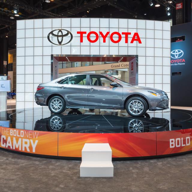 """2015 Toyota Camry"" stock image"