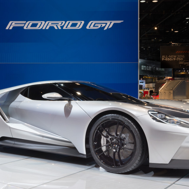 """""""2016 Ford GT"""" stock image"""