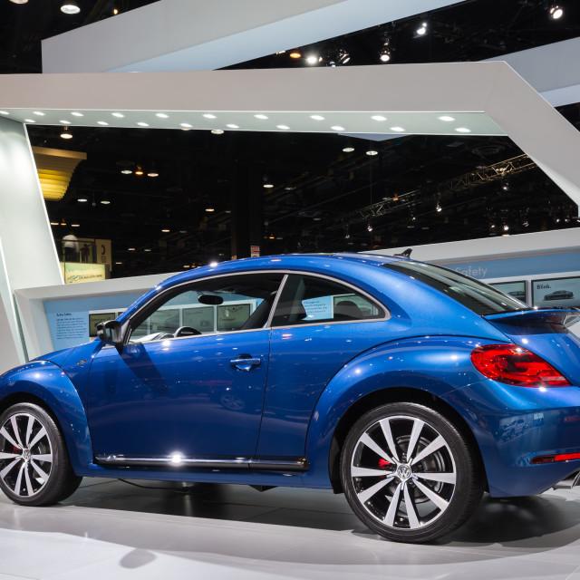 """""""2015 Volkswagen Beetle R-Line"""" stock image"""