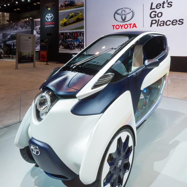 """Toyota i-Road Concept"" stock image"
