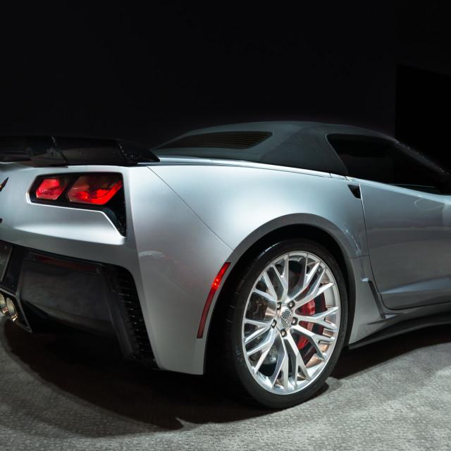 """2015 Chevrolet Corvette Z06"" stock image"