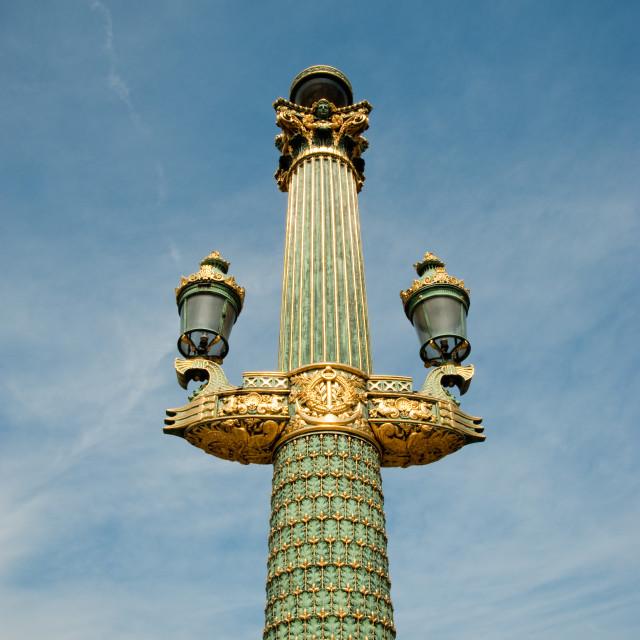 """Paris lamp"" stock image"