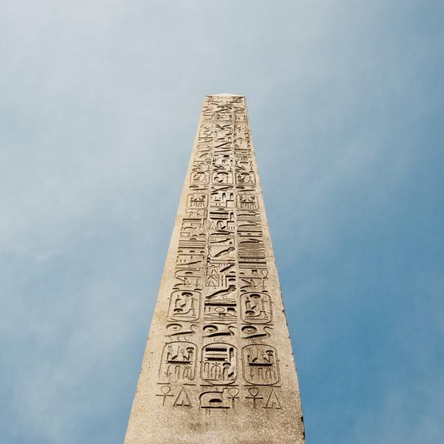 """Paris obelisk"" stock image"
