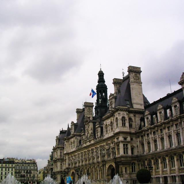"""Hotel de Ville"" stock image"