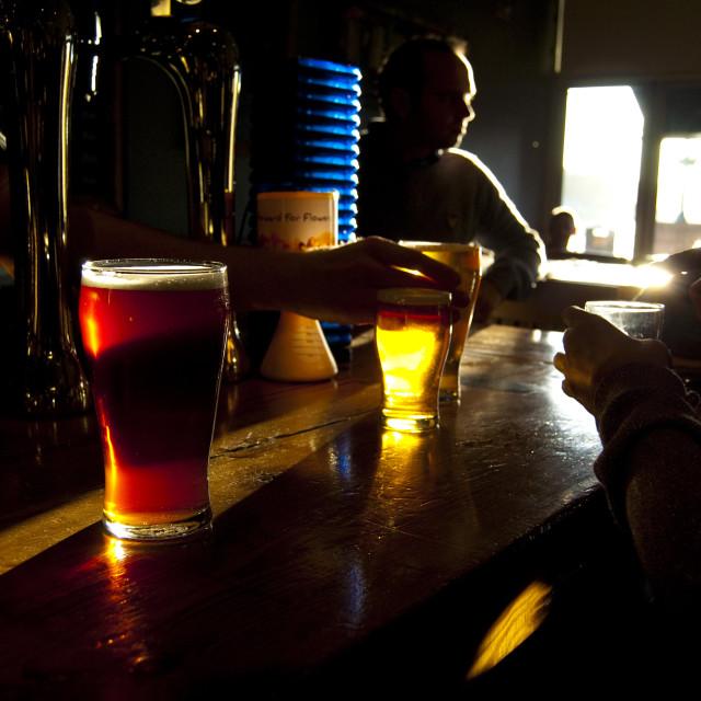 """Pub, Oban, Scotland"" stock image"