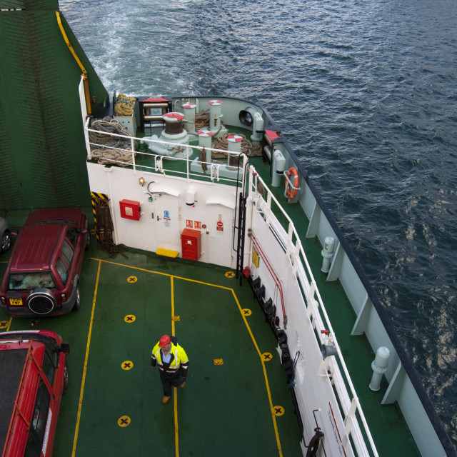 """Inner Hebrides Ferry, Scotland"" stock image"