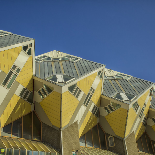 """Cube houses in Rotterdam"" stock image"